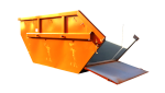 Kontajner na odpad otvaratelny 7,5 m3
